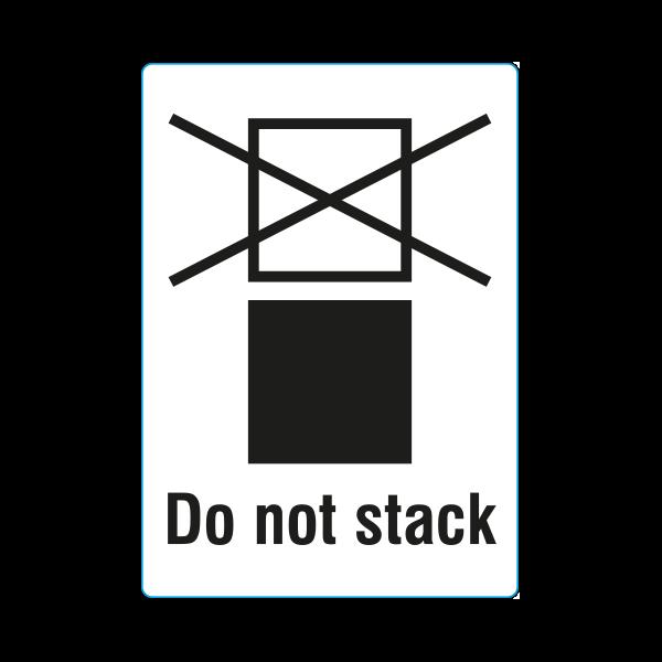 Symbol Nicht Stapeln